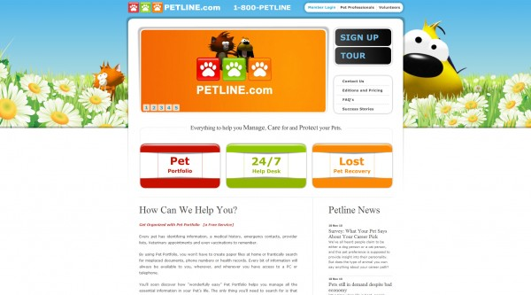 petline php website