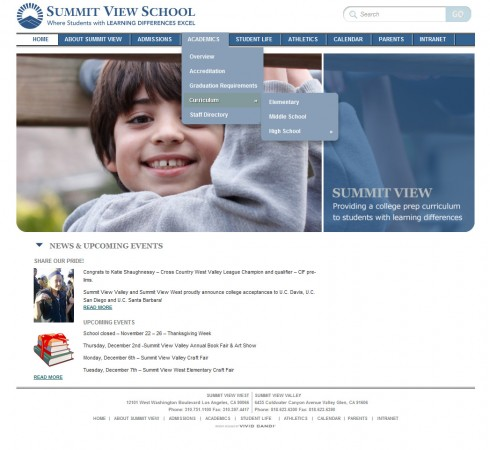 summit view school website
