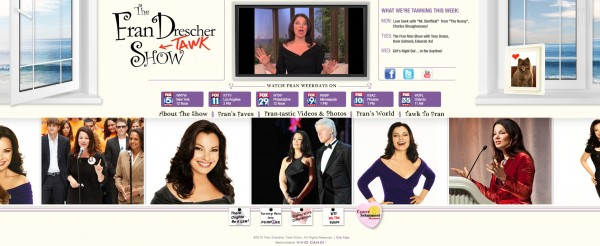 fran drescher website wordpress