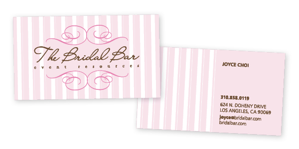 Bridal business cards fieldstation bridal business cards reheart Images
