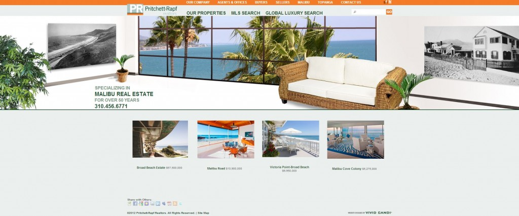pritchett-rapf real estate website