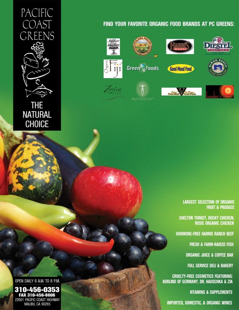 pc greens print ad