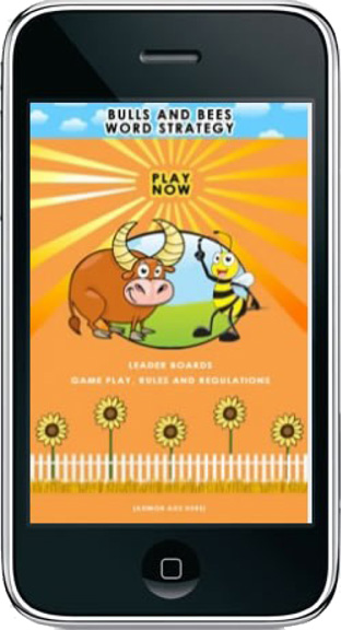 bulls and bees iphone app
