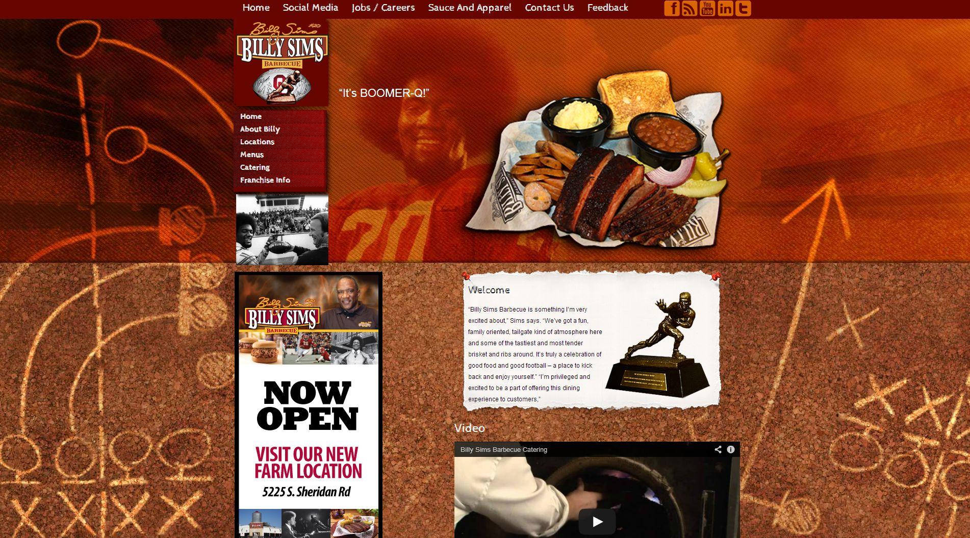 billy sims bbq website