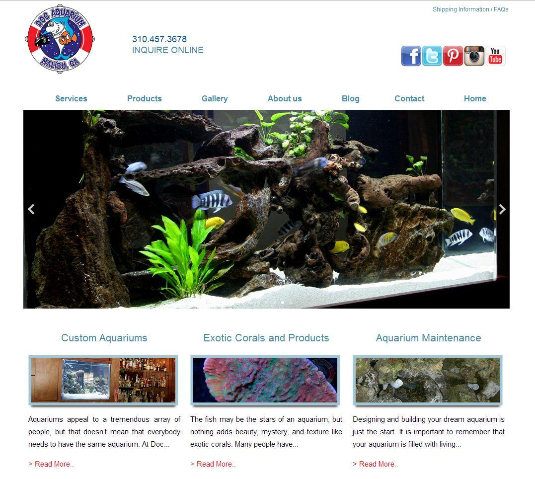 doc aquarium website