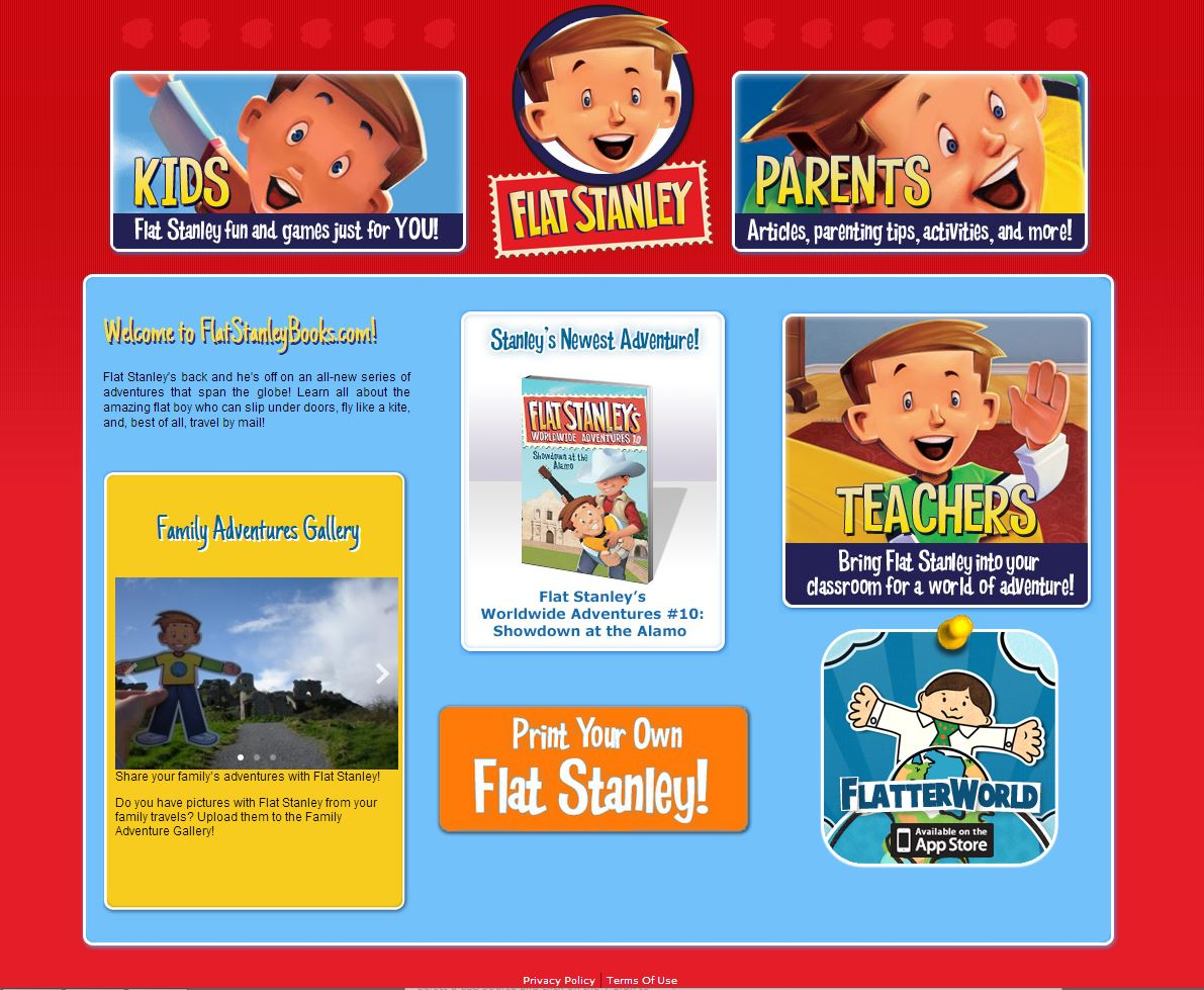flat stanley website