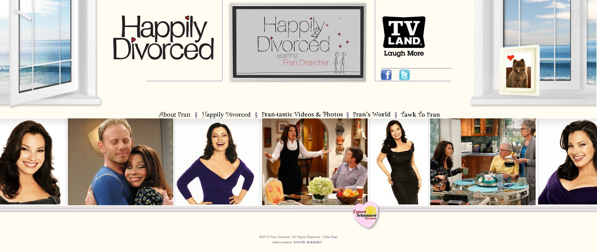 fran drescher website