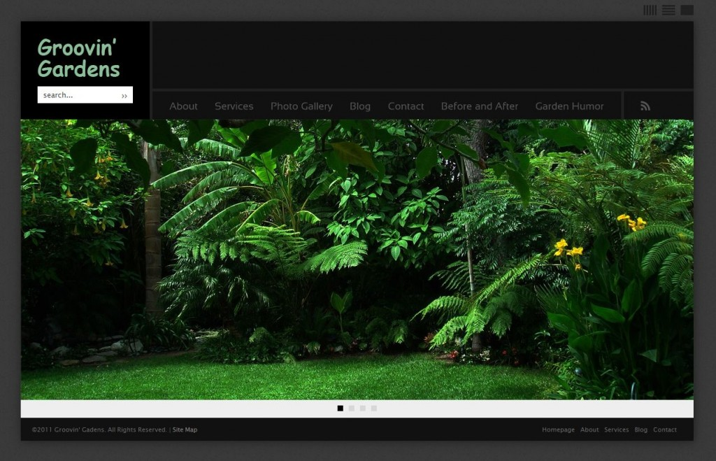 groovin gardens website