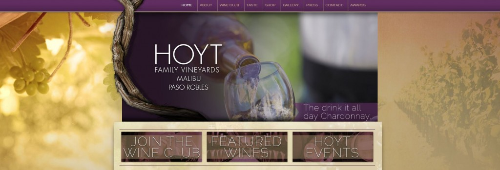 hoyt family vineyards website