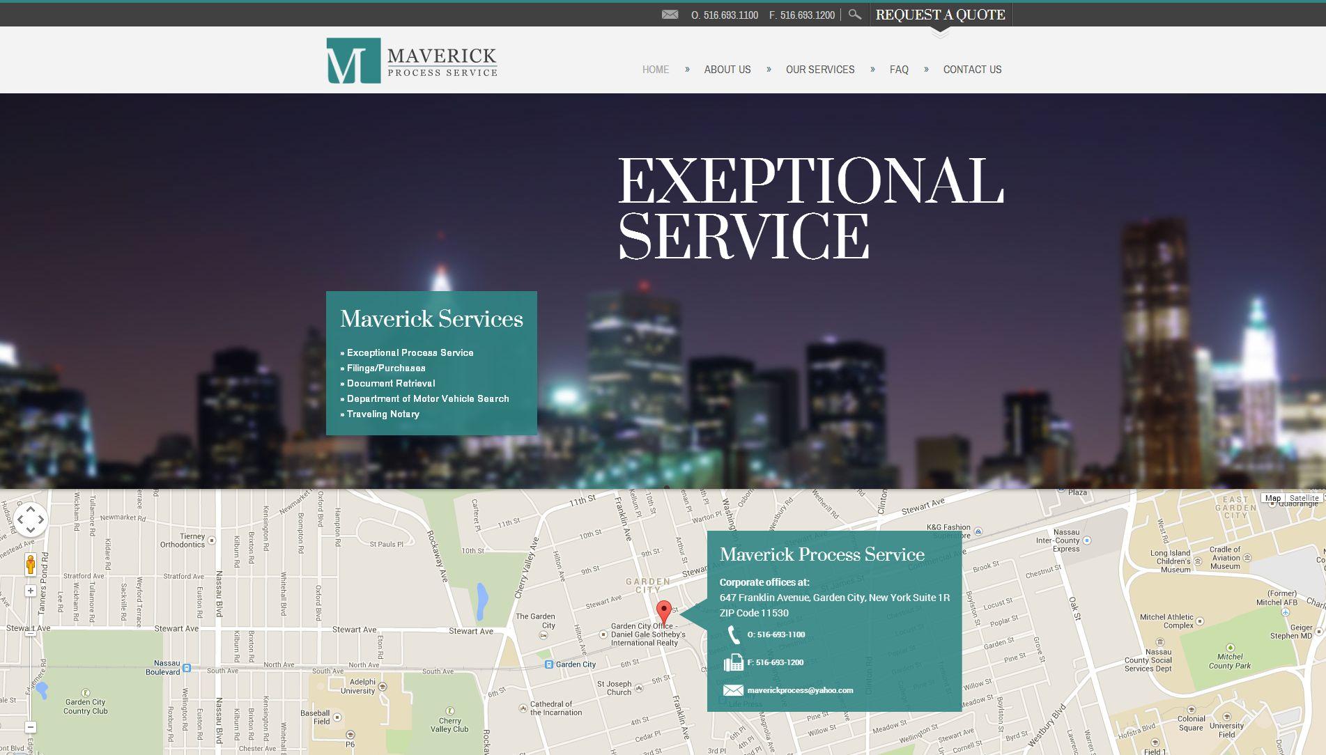 maverick process website
