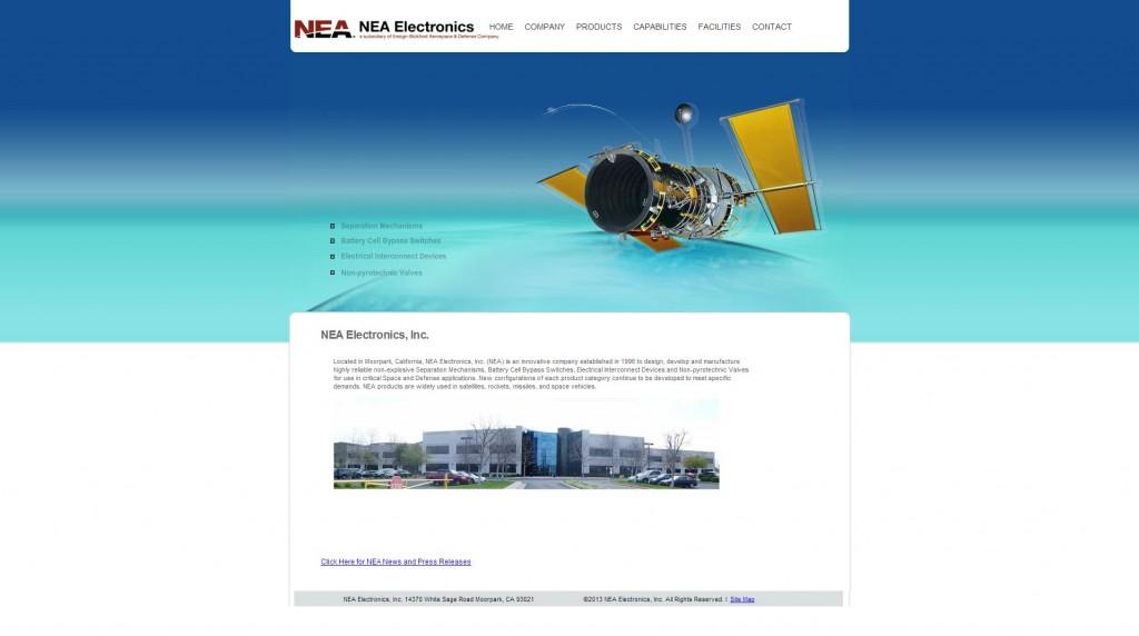 nea electronics website
