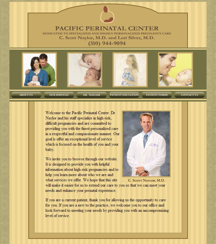 pacific perinatal website