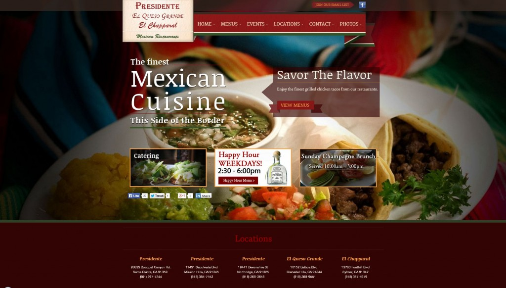 presidente website