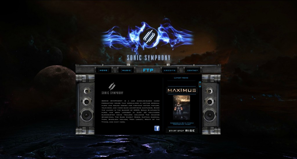 sonic symphony website
