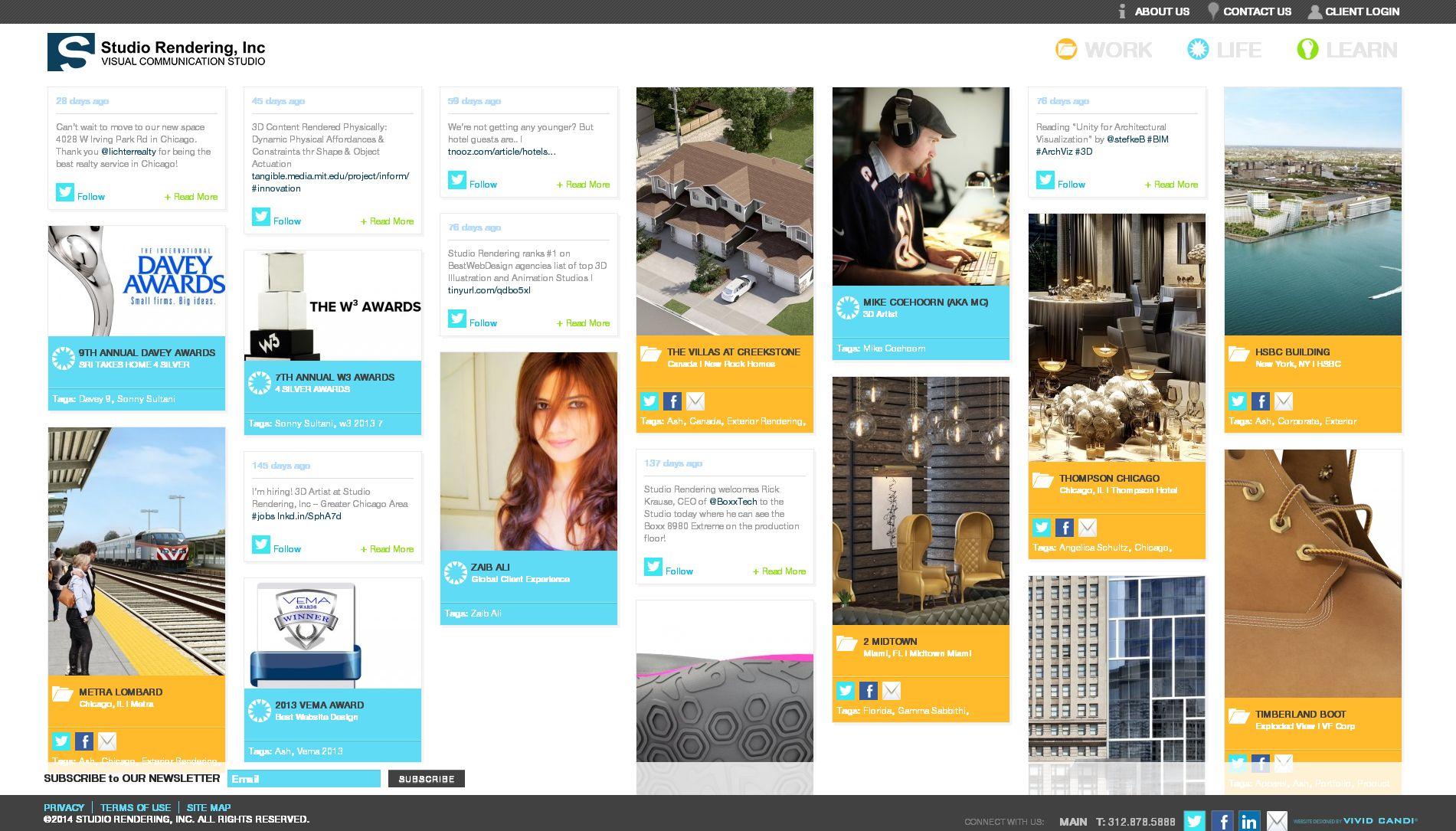 studio rendering website
