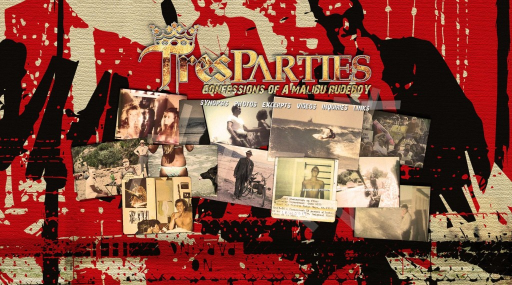 tres parties website matt rapf