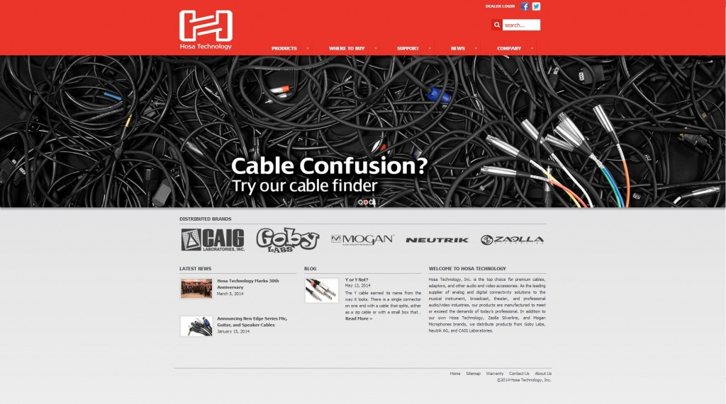 manufacture web design
