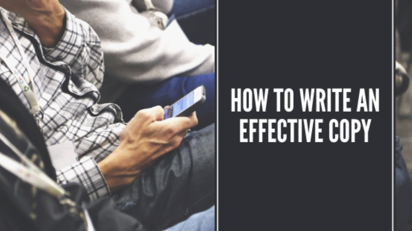 how to write an effective copy banner