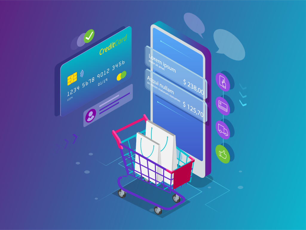 Purchase funnel flow chart for ecommerce