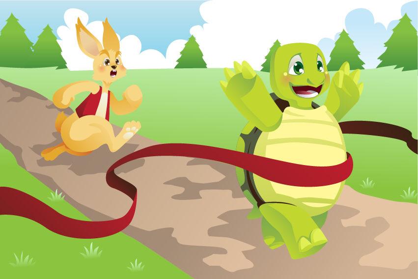 turtle and hare race